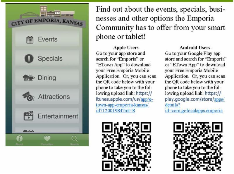 Mobile App QR Codes