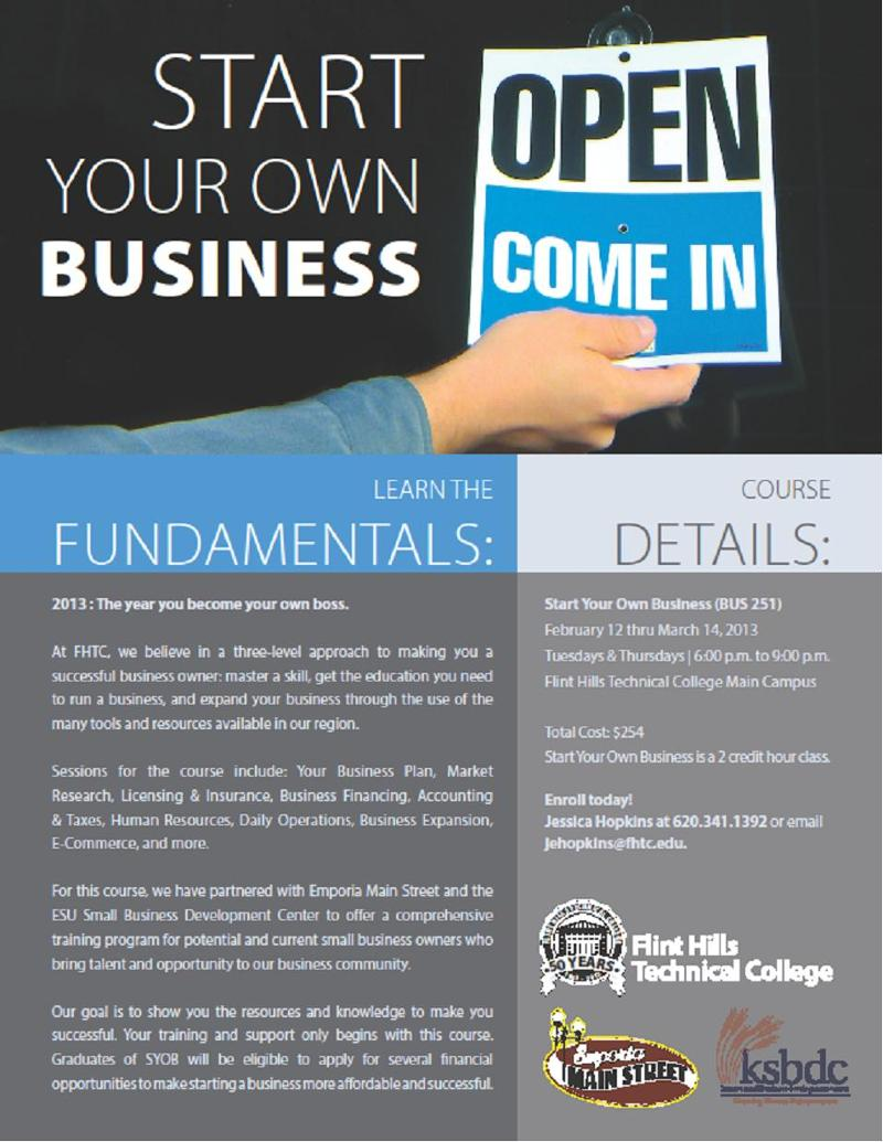 make your own business flyers