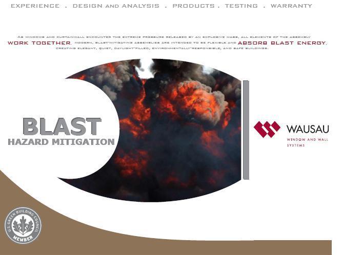 Blast Brochure Cover