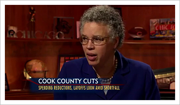 Toni Preckwinkle on WTTW's Chicago Tonight