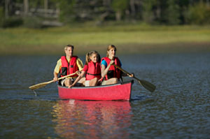 Manners Camp Canoe