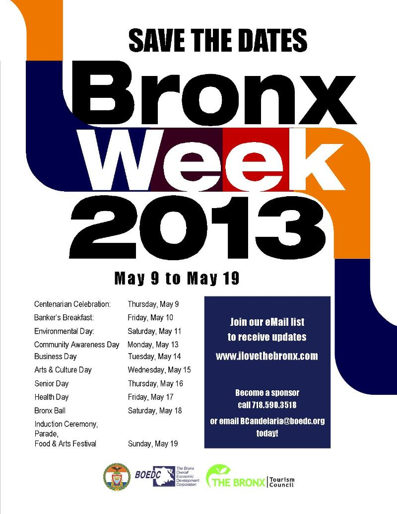 Bronx Week StD