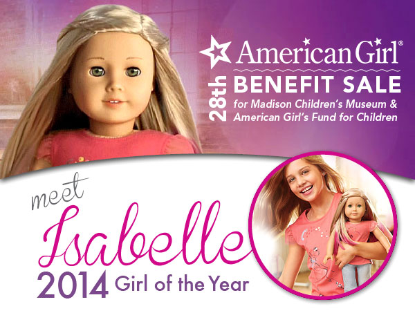 Meet Isabelle, 2014 Girl of the Year at American Girl Benefit Sale