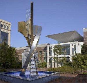 Columbia Museum of Art Keenan Fountain & Apollo's  Cascade