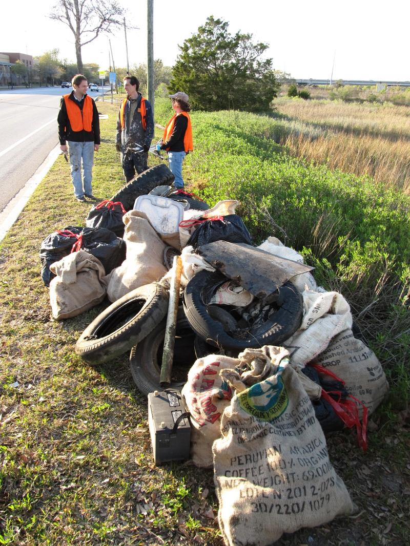 Surfrider Marsh Sweep