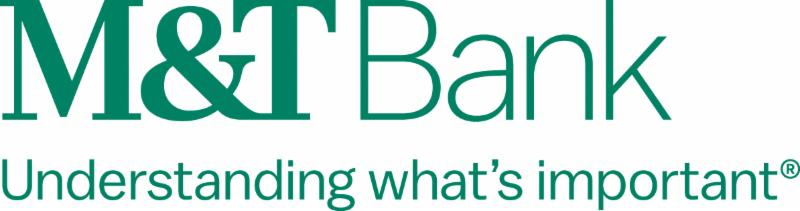 M&T Bank logo with tagline