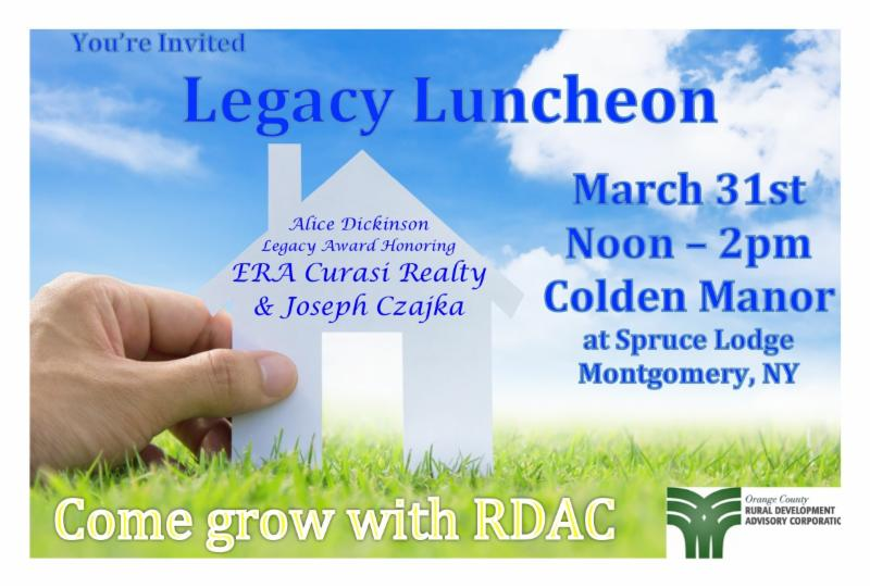 Come Grow With RDAC invite