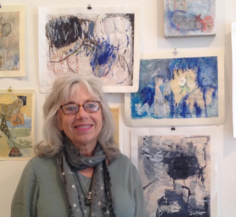 Artist Laura Katz and her work