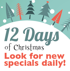 12 Days of Savings This Christmas Season