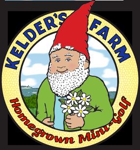 Kelder's Farm Homegrown Mini-Golf Logo