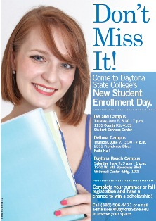 New Student Enrollment Day