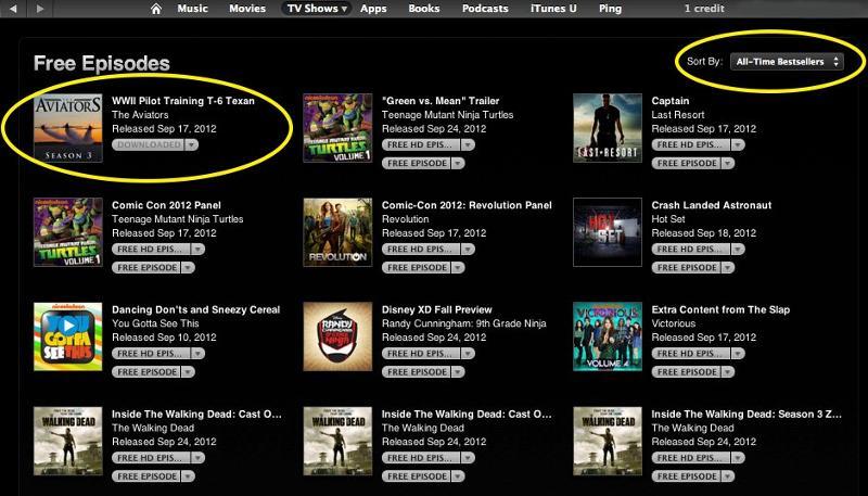 iTunes Best Seller
