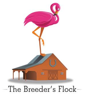 The Breeder's Flock Logo for Hollywood Park