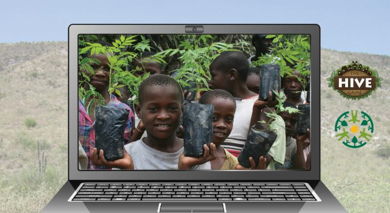 Online Game Plants Trees in Haiti
