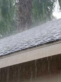 Rain off Shingles