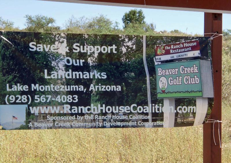 Ranch House Coalition Sign
