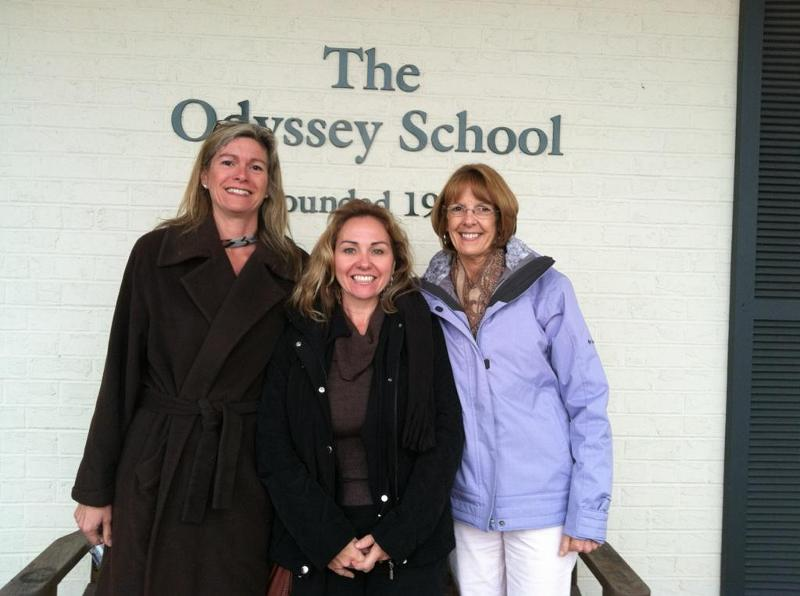Liz Woody, Diane Fannin and Marsha Van Arman