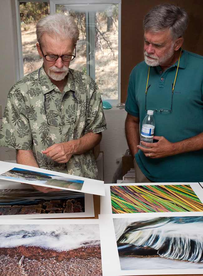 William Neill and Bob Cole discuss fine art printmaking