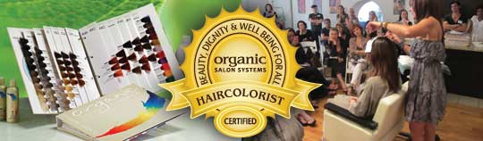 Become a Certified Organic Colorist