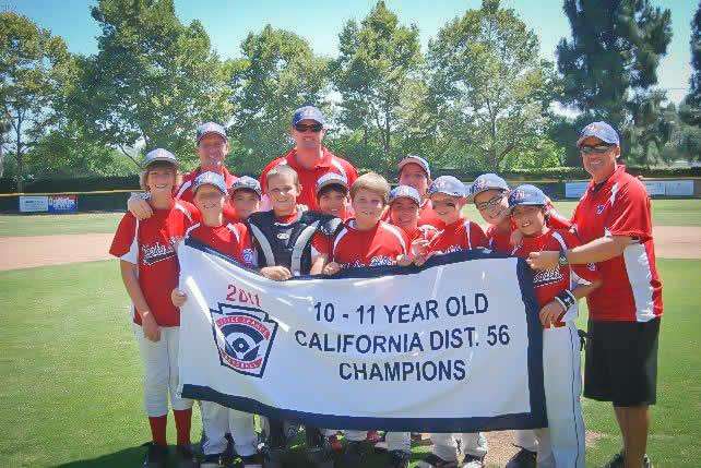 YHLL 10-11 Year Old All Star Team California District 56 Champions
