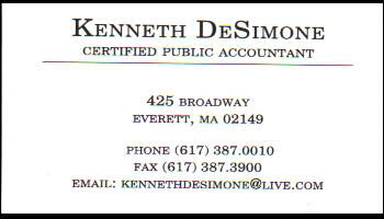Kenneth Desimone logo