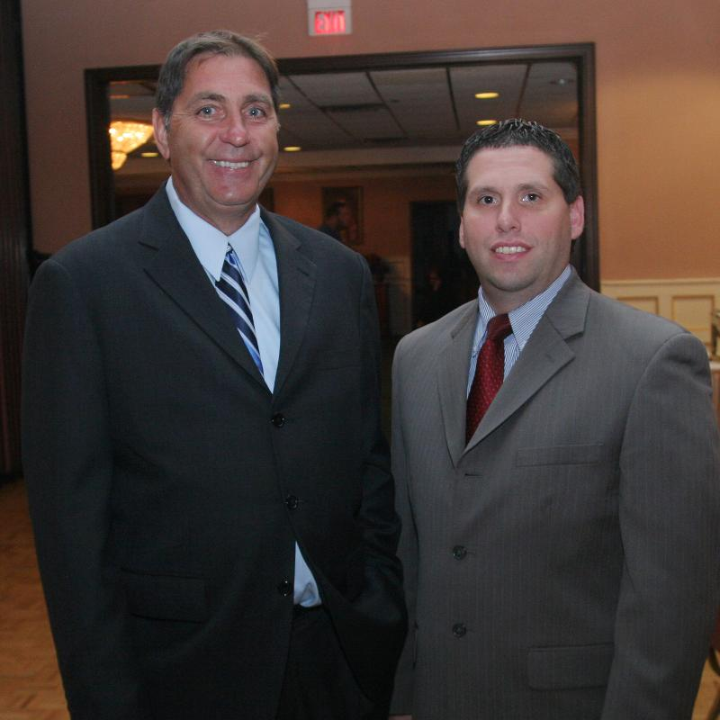 Annual Dinner 2010 - Steve Smith and Sal DeDomenico