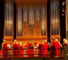 Choir at Pentecost 2012
