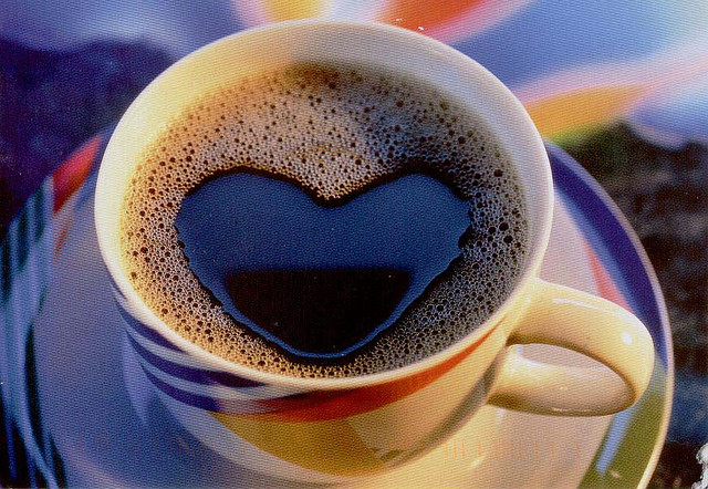 coffee with heart