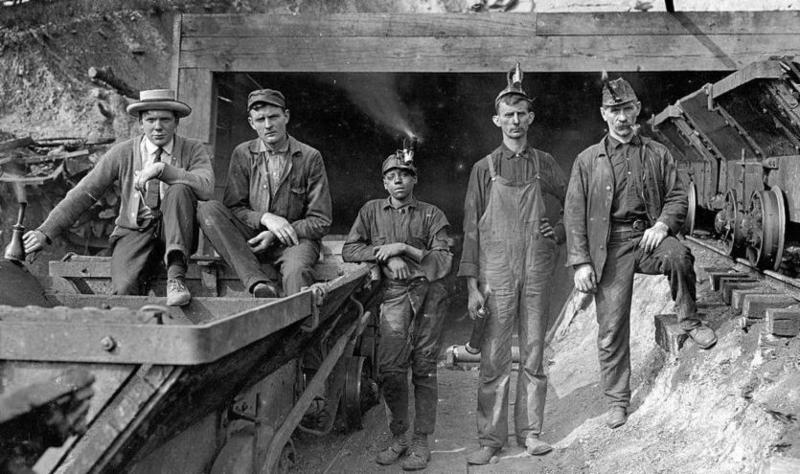 1906 coal miners