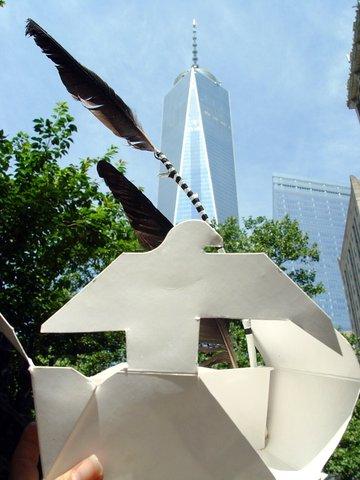 Take-out box Bird, World Trade Center