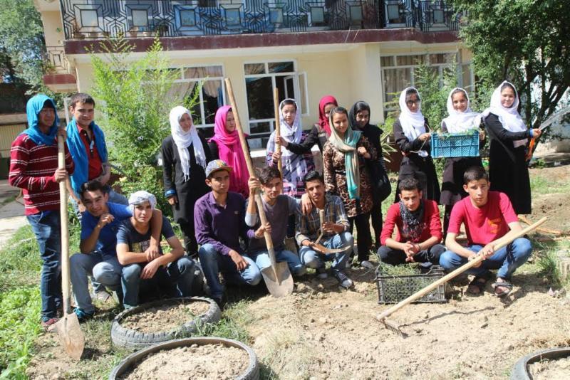 Afghan Peace Volunteers Global Earth Exchange