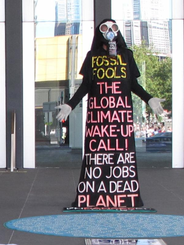 Benny Zable: No Jobs for a Dead Planet
