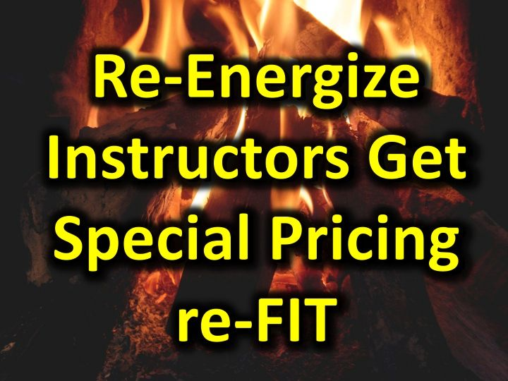 Special Pricing re-FIT