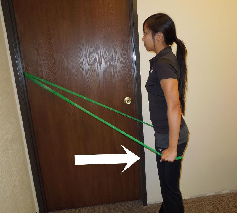 Shoulder extension tband