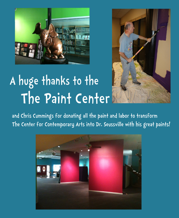 Paint Center Ad