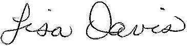 lisa's signature