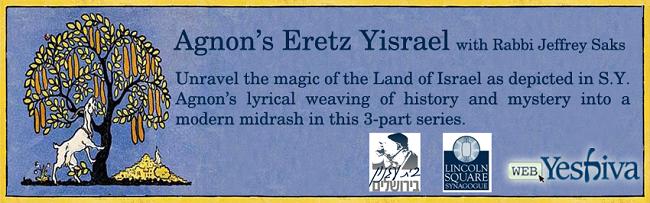 Agnon's Eretz Yisrael
