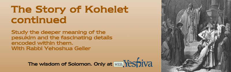 Kohelet Continued