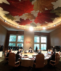 Working Session at the G8 Summit