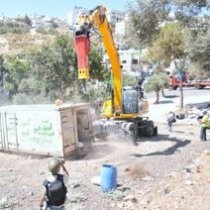 Demolitions in Silwan