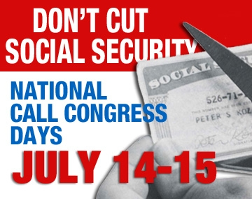 No Cuts to Social Security