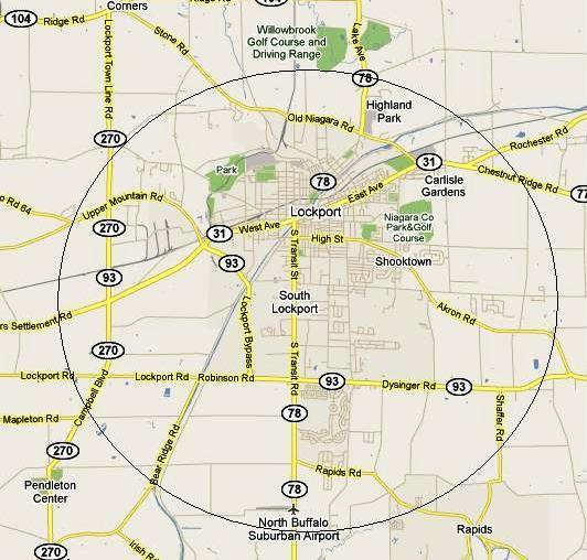 Lockport Map