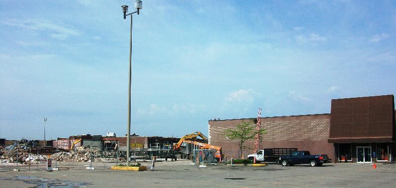 Lockport Mall Demolition