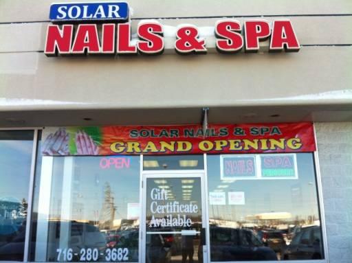 Solar Nails and Spa