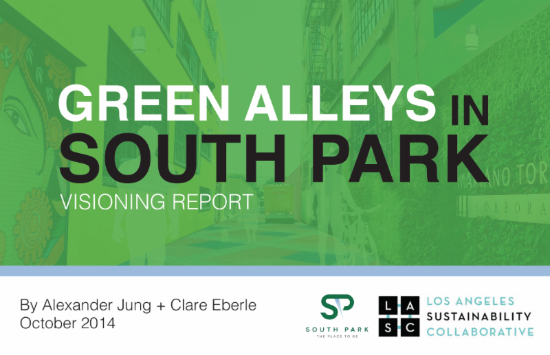 Green Alleys LASC Report