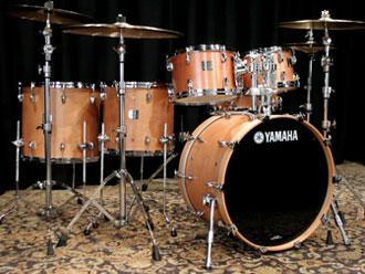 01ff2aa6bcc5 Yamaha Maple Custom Absolute Drum Set 22 10 12 16 - Vintage Natural