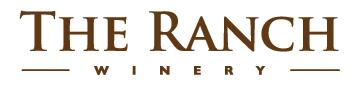 Ranch winery logo