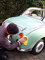 Kevin cleaning Figaro
