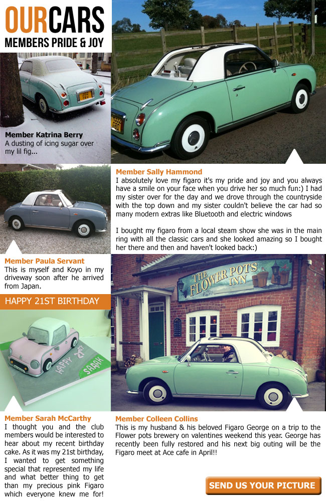 Your Figaro Owners Club Easter Newsletter Has Arrived