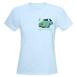 Blue T-Shirt Emarald Green